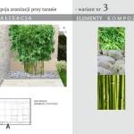Bambusy na tarasie – projekt Allium Design