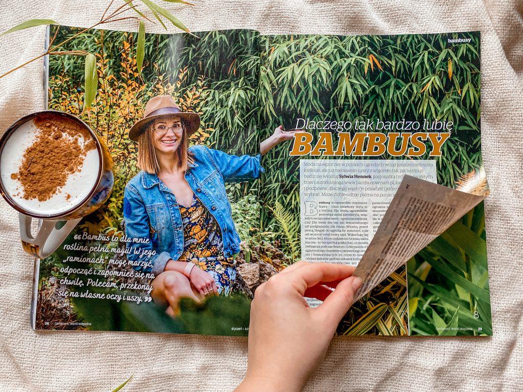bambus w ogrodzie Gardeners' World Edycja Polska
